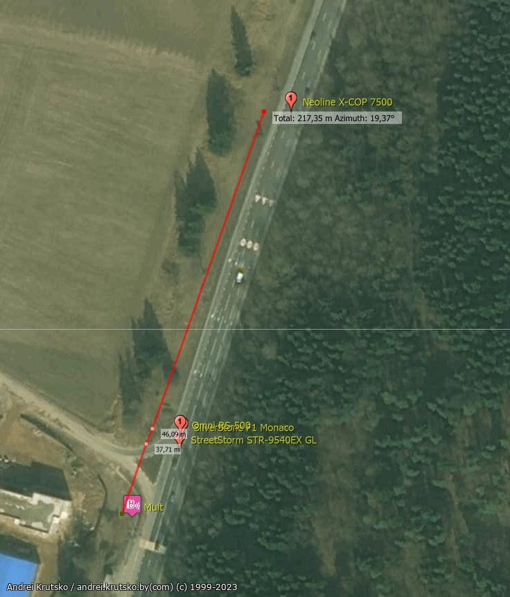 mult results - Тест радар-детектора: Omni RS-500 - Радарная часть